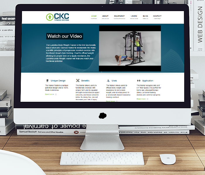 CKC Fitness System Website Design