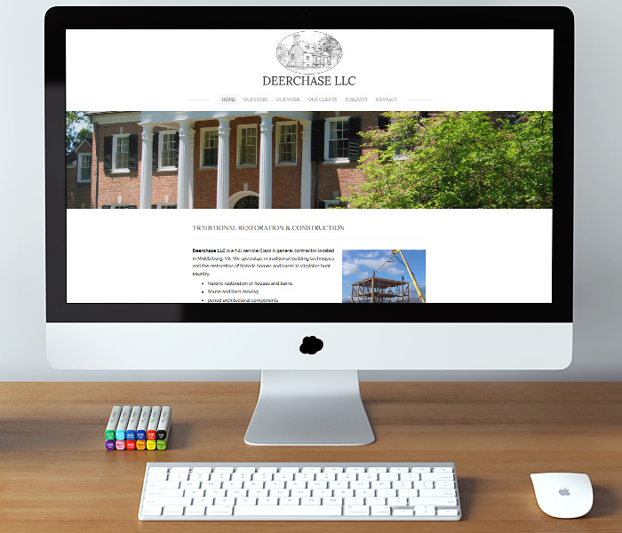 Deerchase LLC Website Design