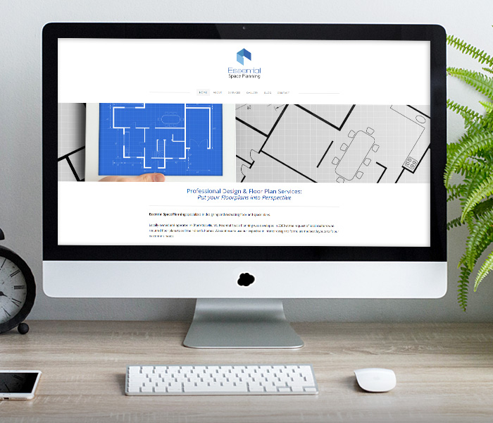 Essential Space Planning Website Design