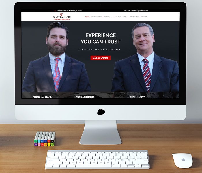 Slater and Smith Website