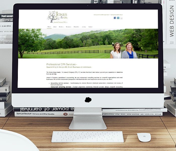 Jones & Company CPA Website Design