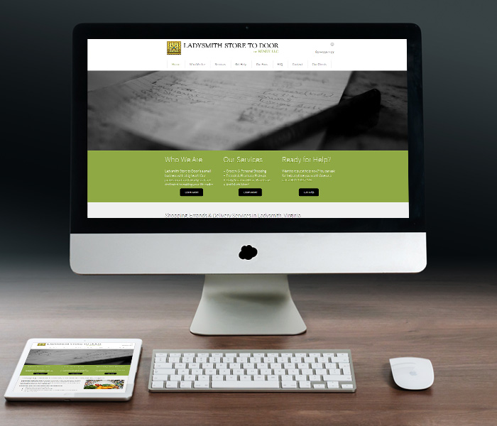 Ladysmith Store to Door Website Design