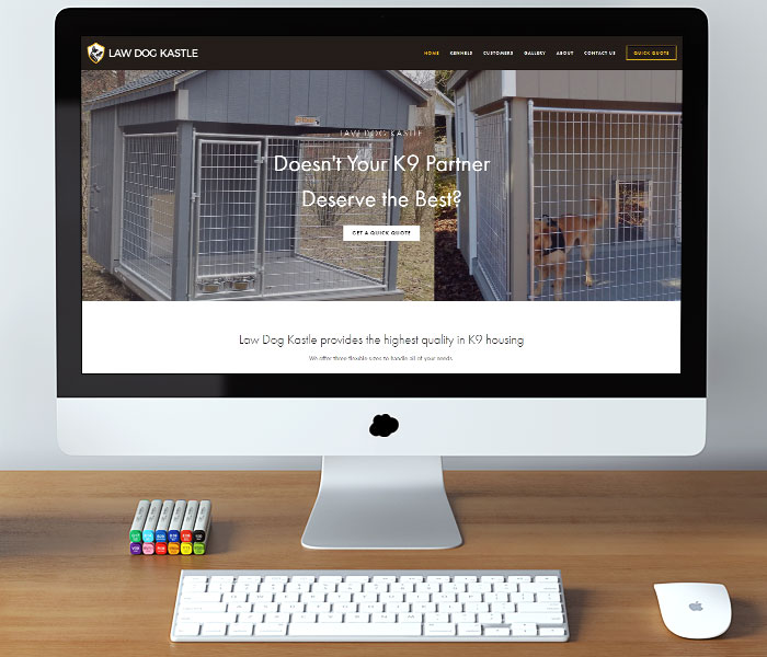 Law Dog Kastle Website Design