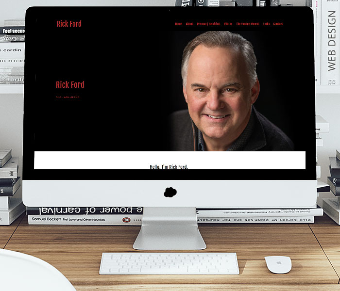 Rick Ford, Actor Website Design