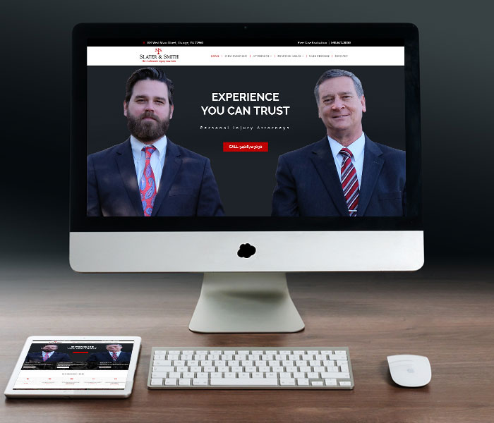 Slater & Smith Website Design