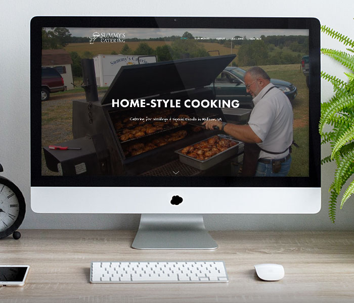 Summy's Catering Website Design