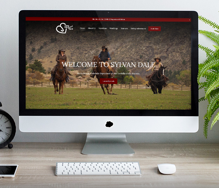 Sylvan Dale Guest Ranch Website Design
